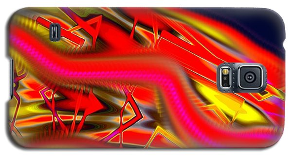 Re-entry Burn Galaxy S5 Case