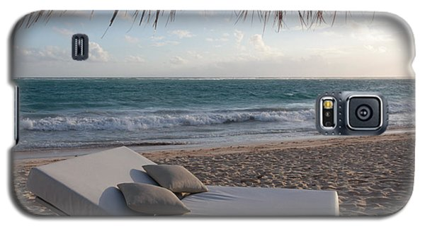 Galaxy S5 Case featuring the photograph Ready To Relax On A Tropical Beach by Karen Lee Ensley