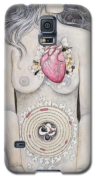 Galaxy S5 Case featuring the painting Rebirth Of Venus by Sheri Howe