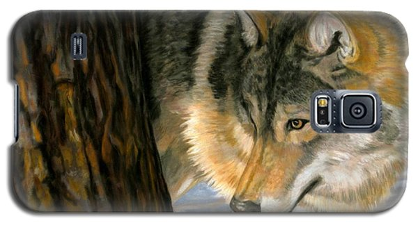 Galaxy S5 Case featuring the painting Reclaiming The Wild by Sheri Gordon