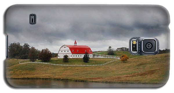 Red Barn Galaxy S5 Case by Maggy Marsh