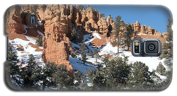 Galaxy S5 Case featuring the photograph Red Canyon by Bob and Nancy Kendrick