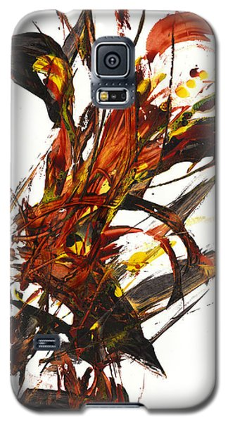 Red Flame II 65.121410 Galaxy S5 Case
