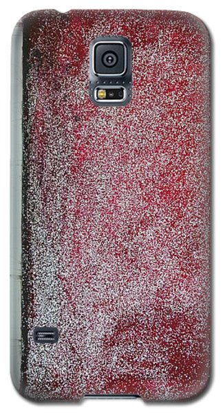Red Galaxy - Abstract Galaxy S5 Case