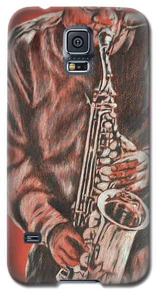 Red Hot Sax Galaxy S5 Case