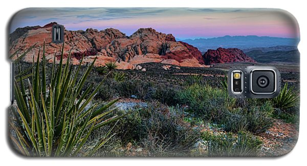Red Rock Sunset II Galaxy S5 Case