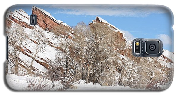 Galaxy S5 Case featuring the photograph Red Rocks by Angelique Olin