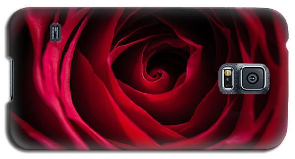 Galaxy S5 Case featuring the photograph Red Rose by Matt Malloy