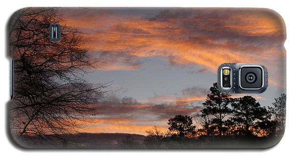 Galaxy S5 Case featuring the photograph Red Sky At Dawn by Jean Haynes