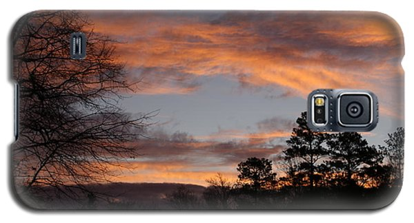 Red Sky At Dawn Galaxy S5 Case by Jean Haynes