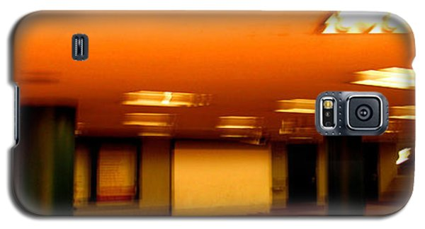 Galaxy S5 Case featuring the photograph Red Subway by Andy Prendy