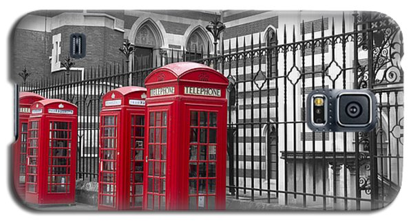 Red Telephone Boxes Galaxy S5 Case