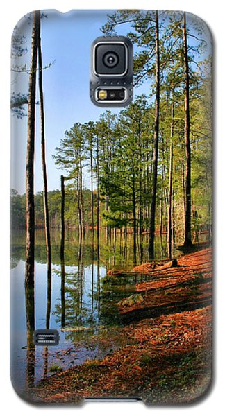 Red Top Mountain Galaxy S5 Case