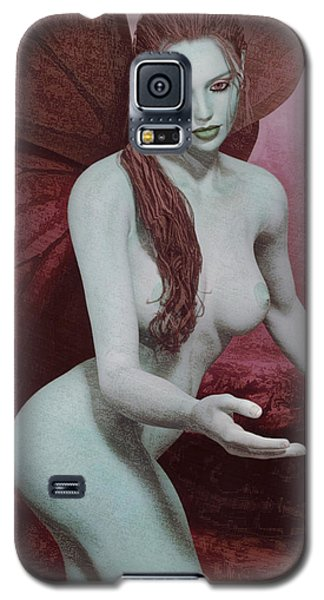 Red Winged Fae Galaxy S5 Case