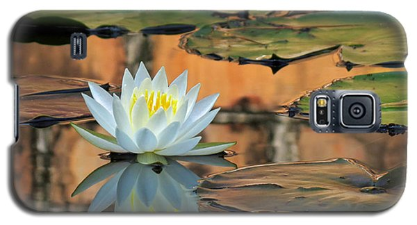 Galaxy S5 Case featuring the photograph Reflecting Pond by Deborah Smith