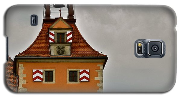 Galaxy S5 Case featuring the photograph Regensburg Clock Tower by Kirsten Giving