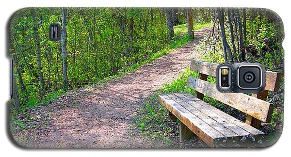 Rest Stop Galaxy S5 Case by Jim Sauchyn