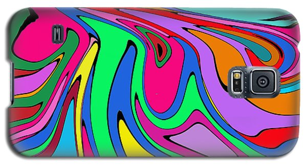 Retro Abstract Galaxy S5 Case