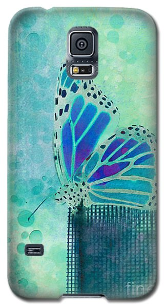 Butterfly Galaxy S5 Case - Reve De Papillon - S02b by Variance Collections