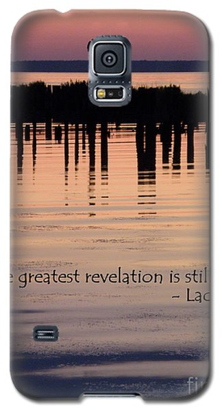 Galaxy S5 Case featuring the photograph Revelation by Lainie Wrightson