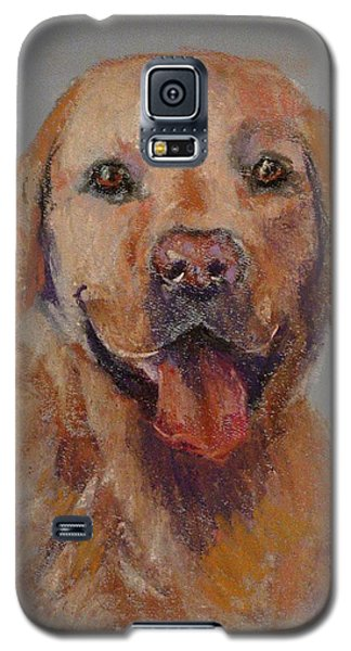 Galaxy S5 Case featuring the painting Rex  by Carol Berning