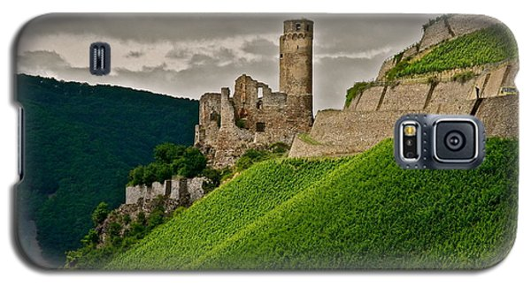 Galaxy S5 Case featuring the photograph Rhine River Medieval Castle by Kirsten Giving