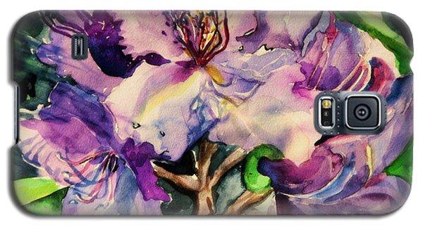 Rhododendron Violet Galaxy S5 Case