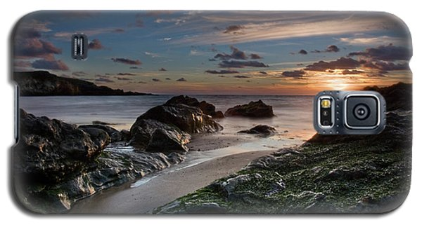 Galaxy S5 Case featuring the photograph Rhosneigr Sunset  by Beverly Cash