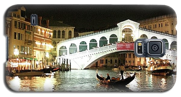 Rialto Bridge Night Scene Galaxy S5 Case