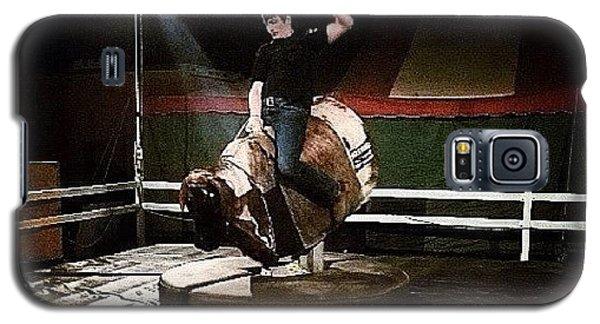Ohio Galaxy S5 Case - Ride The Bull by Natasha Marco