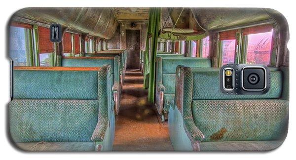 Riding In Coach Galaxy S5 Case