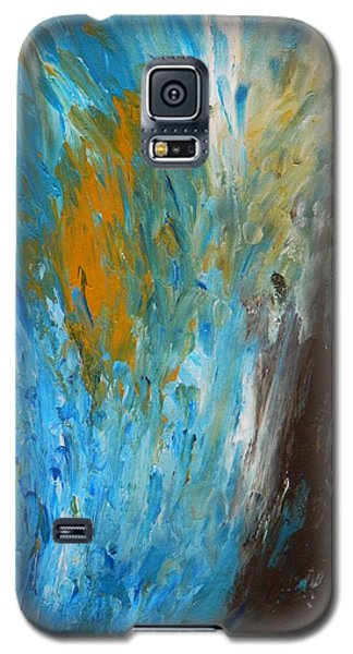 Galaxy S5 Case featuring the painting Riptide by Everette McMahan jr