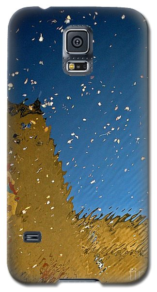 Galaxy S5 Case featuring the photograph River Crossing Border Crossing by Andy Prendy