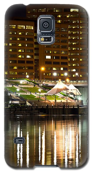 River Front At Night Galaxy S5 Case