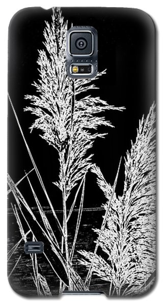 Galaxy S5 Case featuring the photograph River Grass by Nancy Dole McGuigan