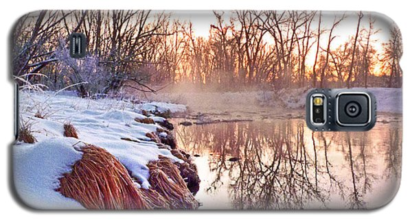 Galaxy S5 Case featuring the photograph River Grasses Colorado by William Fields