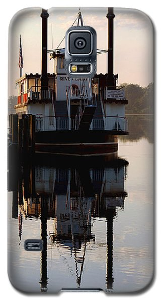 Galaxy S5 Case featuring the photograph River Lady Cruise by Sami Martin