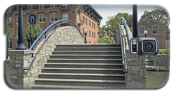 River Walk Bridge In Frederick Maryland Galaxy S5 Case
