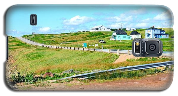 Galaxy S5 Case featuring the photograph Road Trip In Cape Breton Nova Scotia by Joe  Ng