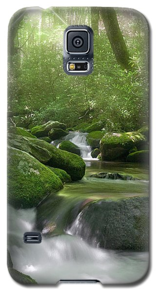 Galaxy S5 Case featuring the photograph Roaring Fork by Cindy Haggerty