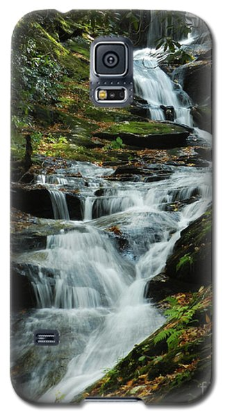 Galaxy S5 Case featuring the photograph Roaring Fork Falls by Deborah Smith