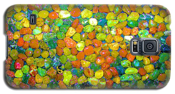Galaxy S5 Case featuring the photograph Rock Candy by Carolyn Repka