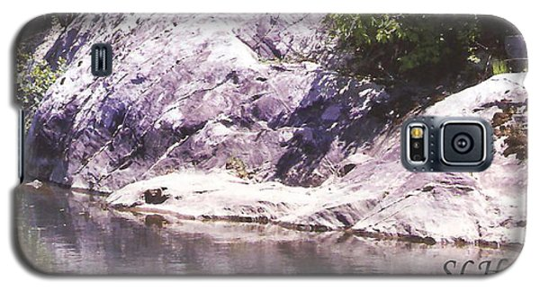 Rocks On The Bank Galaxy S5 Case