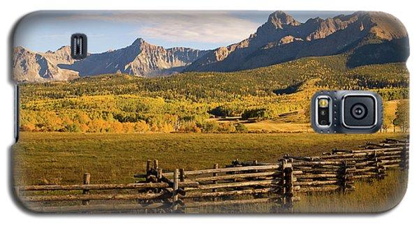 Rocky Mountain Ranch Galaxy S5 Case by Steve Stuller