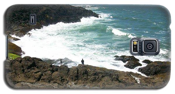 Rocky Ocean Coast Galaxy S5 Case