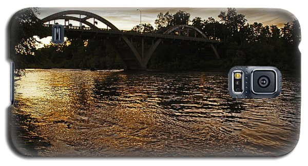 Rogue River Sunset Galaxy S5 Case by Mick Anderson