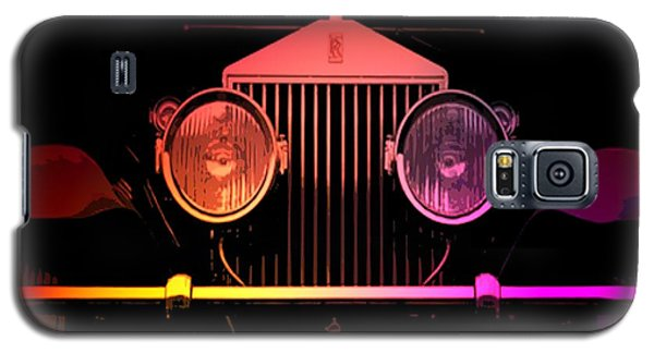 Galaxy S5 Case featuring the photograph Rolls Royce Smile by George Pedro