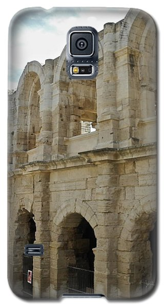 Galaxy S5 Case featuring the photograph Roman Coliseum In Arles by Kirsten Giving