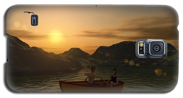 Romance On The Lake Galaxy S5 Case