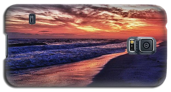 Romar Beach Sunset Galaxy S5 Case